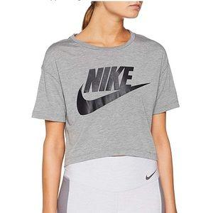 Women's Nike NSW Essential Cropped Top, Sz L NWT